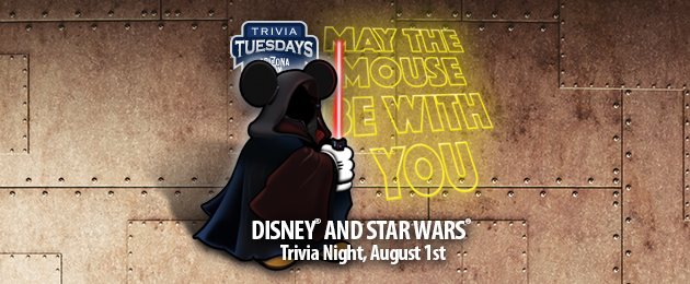 May The Mouse Be With You Trivia Night