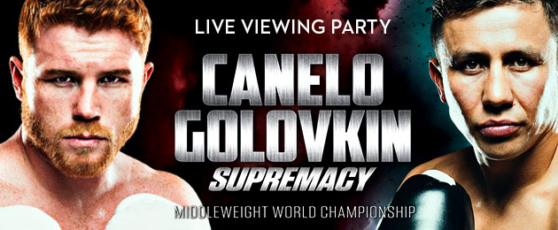 Canelo vs Golovkin Viewing Party in the Arizona Room
