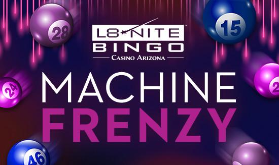 casino arizona bingo night
