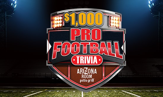 $1,000 Pro Football Trivia