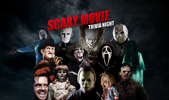 Scary Movie Trivia Night