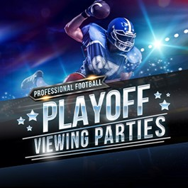 Pro Football Playoff Parties