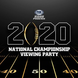 2020 National Championship Viewing Party